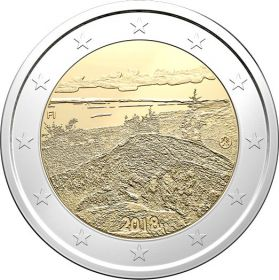 Национальный парк Коли  2 евро Финляндия 2018
