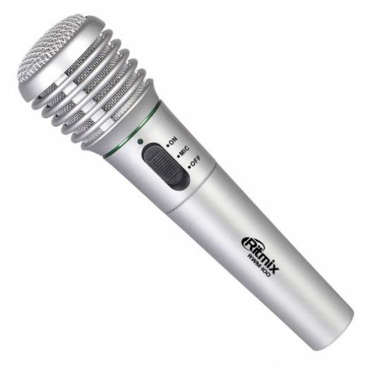 Караоке Микрофон RWM-100 black (черный)