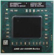 Процессор мобильный AMD A6 4400M - FS1, 2 ядра/2 потока, 2.7-3.2 GHz, TDP-35W [1626]