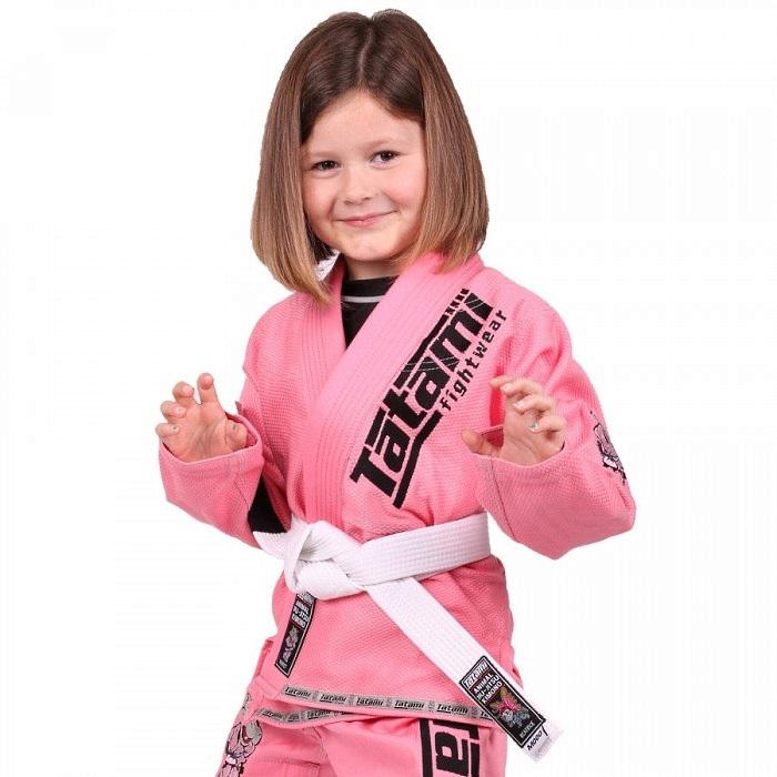 Детское кимоно Tatami Meerkatsu Animal - Pink