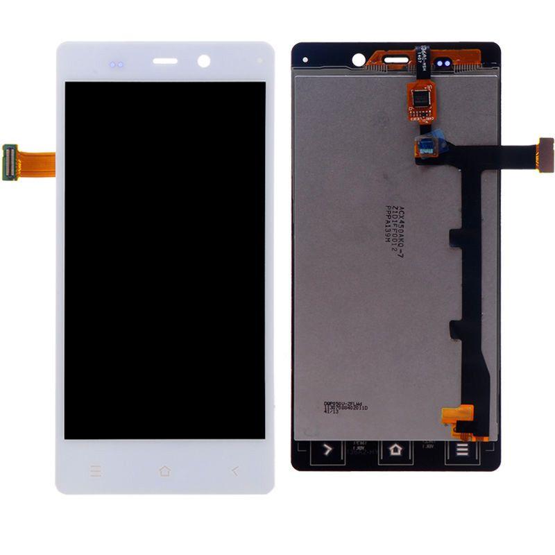 LCD (Дисплей) Fly IQ453 Quad Luminor FHD (в сборе с тачскрином) (white) Оригинал