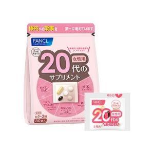 Fancl 20 витамины для женщин, на 30 дней.