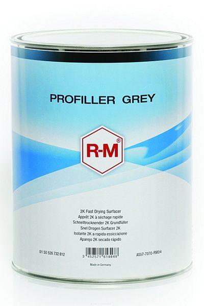 RM PROFILLER GREY двухкомпонентный полиуретановый серый грунт-наполнитель, 4л.