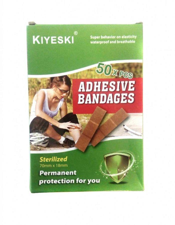 Бактерицидный пластырь от ссадин и ран Kiyeski, 50 шт