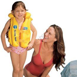 Детский надувной спасательный жилет INTEX 58660