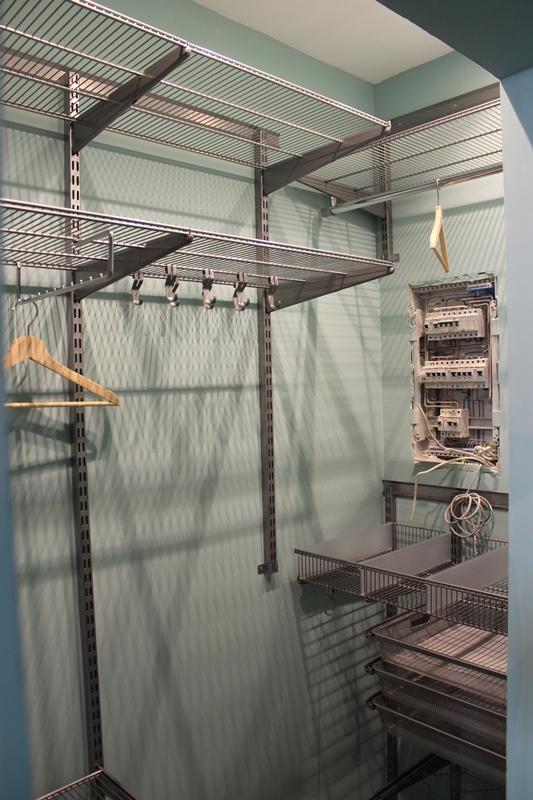 Гардеробная в прихожей, размеры — Ш2500 х Г875 х В2560
