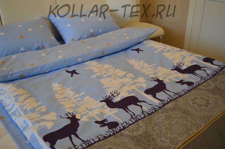 Постельное белье из фланели Лапландия, ASHGABAT DOKMA TOPLUMY