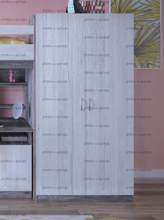 Шкаф 2-дверный Юта (104х50х200)
