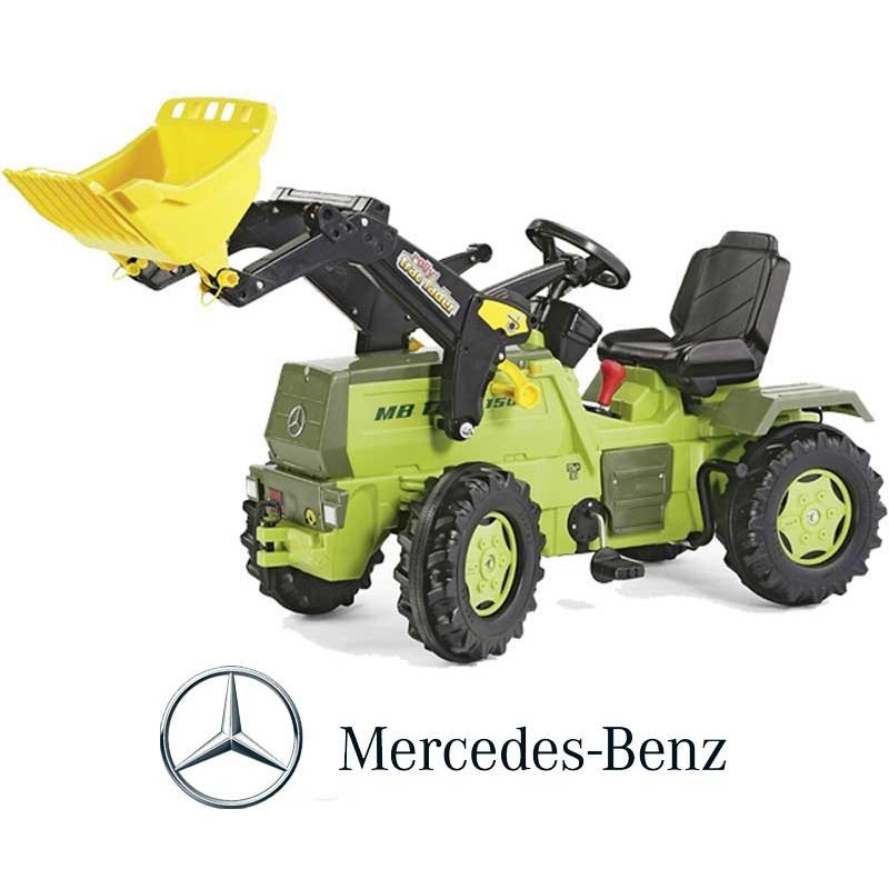 Трактор Rolly Toys Mercedes Benz с ковшом 046690