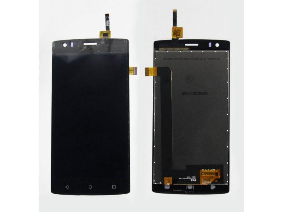 LCD (Дисплей) Fly FS502 Cirrus 1 (в сборе с тачскрином) (black) Оригинал