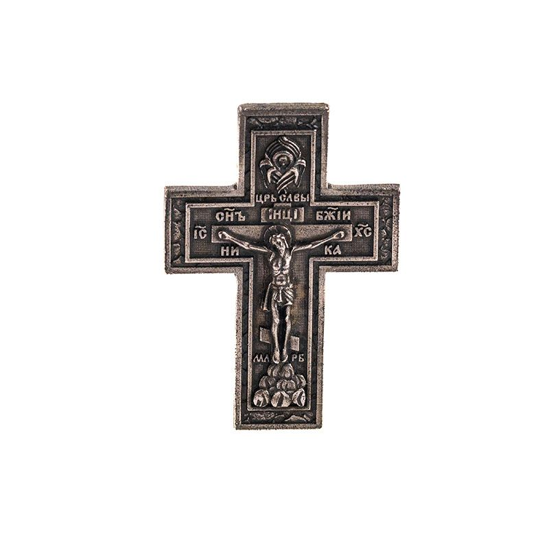 Крест  в машину олово