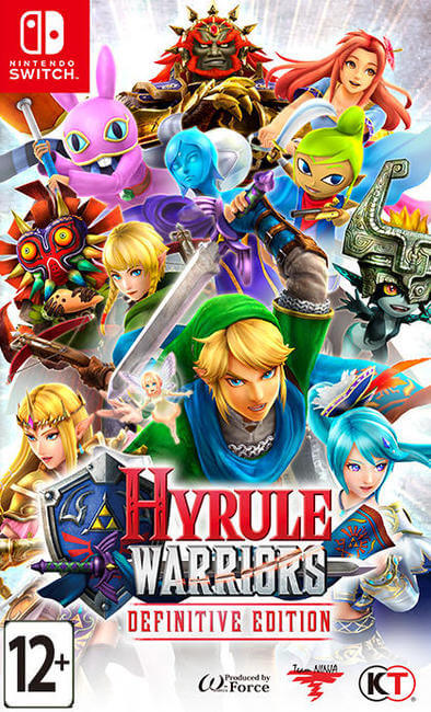 Игра Hyrule Warriors : Definitive Edition (Nintendo Switch)