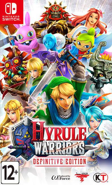 Игра Hyrule Warriors : Definitive Edition (Nintendo Switch)