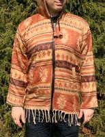 Тёплая непальская мужская кофта на молнии, купить в Москве