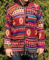 Тёплая мужская шерстяная толстовка на молнии, купить в Москве. Интернет магазин Инд Базар: этническая одежда из Индии и Непала