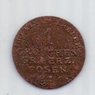 1 грош 1816 г. Польша