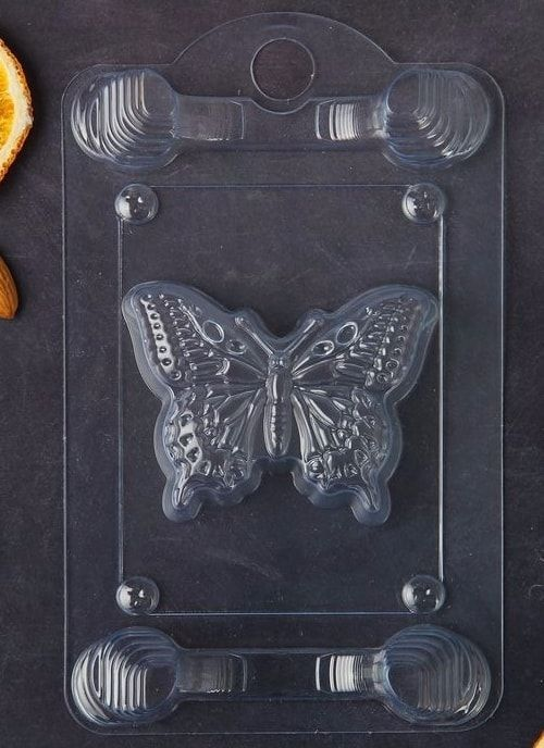 "Форма пластиковая ""Бабочка"" 8*6,5*1,5см"