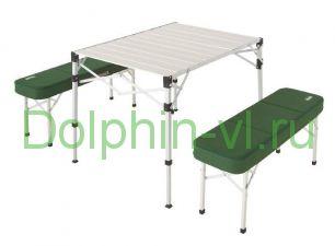 Стол раскладной со скамейками Coleman (2000010516)