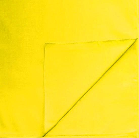 Однотонная бандана (желтая)