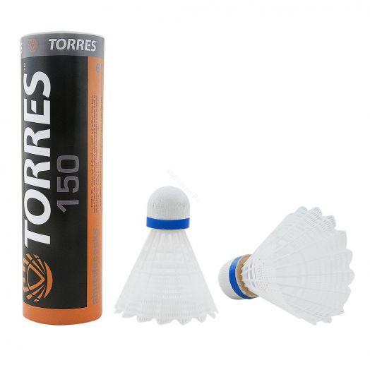 Воланы для бадминтона TORRES 150