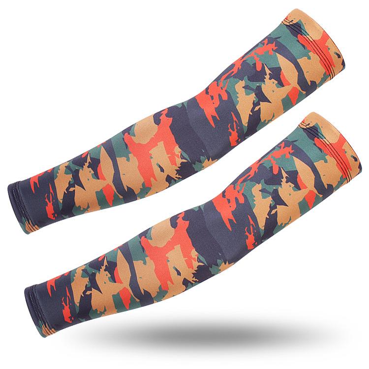 Спортивные рукава камуфляжные (Camo fier)