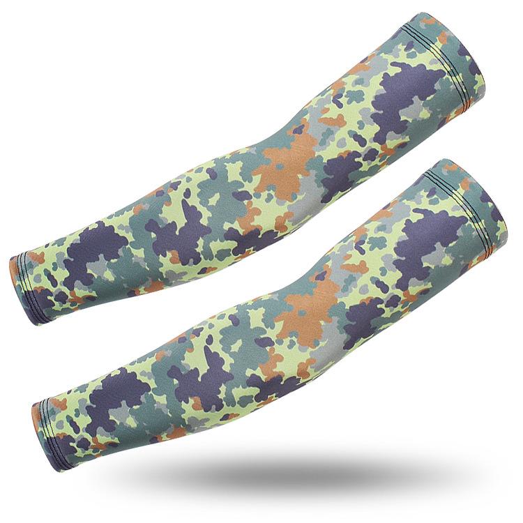 Спортивные рукава камуфляжные (Forest camo)