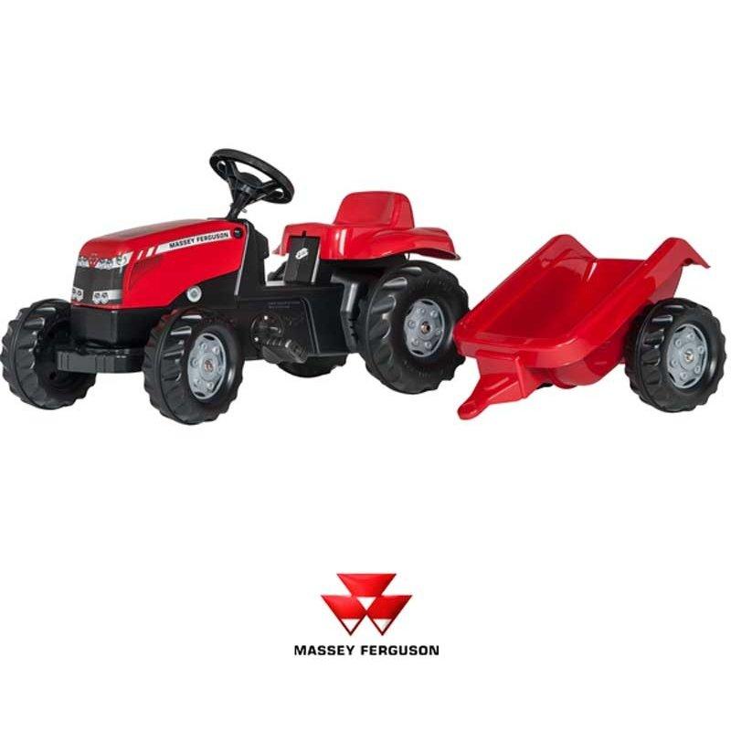 Трактор педальный rollyKid Rolly Toys Massey Ferguson 012305