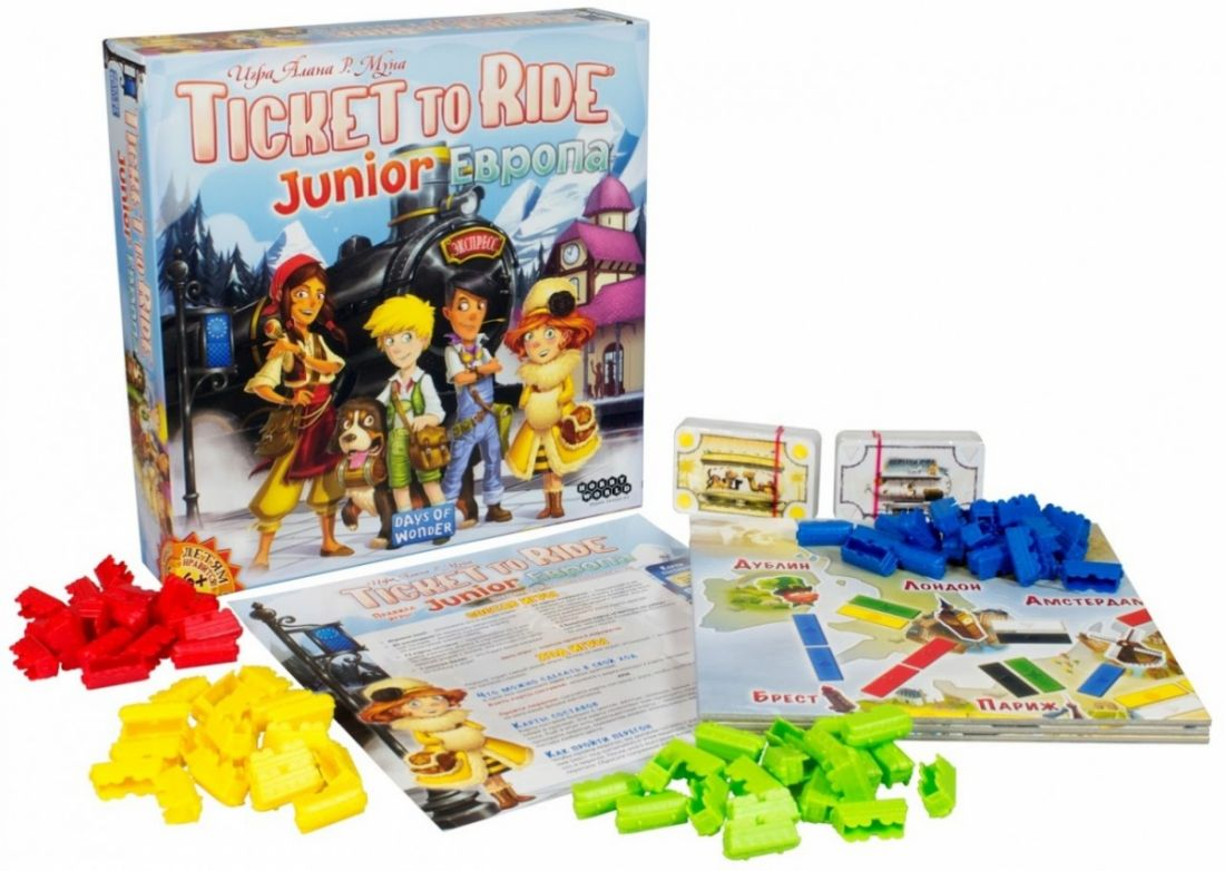 Ticket to Ride Junior: Европа
