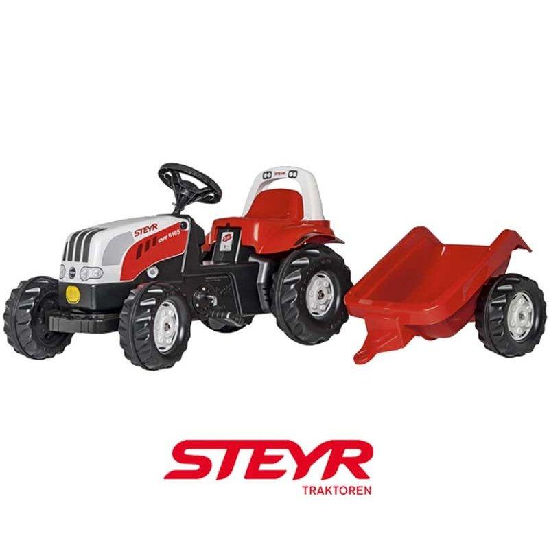 Трактор Rolly Toys Rolly KID Steyr 012510 с прицепом