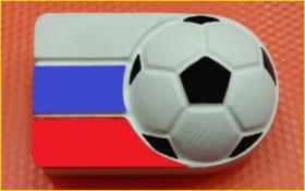 Форма для мыла Футбол в России