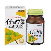 Orihiro Гинкго Билоба с Элеутерококком, 240 таблеток.