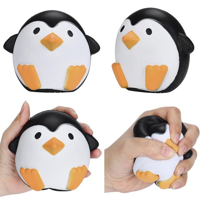 Cквиш антистресс пингвин купить недорого