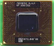 Процессор мобильный Intel Pentium 3 650 MHz (SL4JY) - 495, 180 нм, 1 ядро/1 поток, 650 MHz, TDP-21.5W