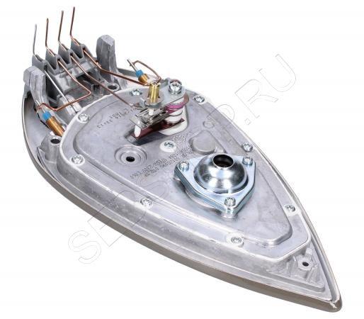 Подошва утюга для парогенератора  TEFAL (Тефаль) серии POWER ZONE моделей GV74.... Артикул CS-00123520