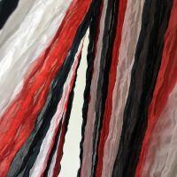 шелковый шарф белый красный черный, купить в Москве