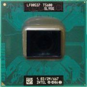 Процессор мобильный Intel T5600 (SL9SG) - 478/479, 65 нм 2 ядра/2 потока, 1.83 GHz, TDP-34W, 667 MHz [1025]