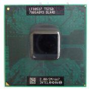 Процессор мобильный Intel T5750 (SLA4D) - P, 65 нм 2 ядра/2 потока, 2.0 GHz, TDP-35W, 667 MHz [1089]