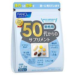Fancl 50 витамины для мужчин, на 30 дней.