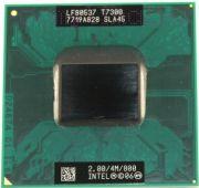 Процессор мобильный Intel T7300 (SLA45) - 478/479, 65 нм, 2 ядра/2 потока, 2.0 GHz, TDP-35W [1194]
