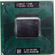 Процессор мобильный Intel T7500 (SLA44) - 478/479, 65 нм, 2 ядра/2 потока, 2.2 GHz, TDP-35W, 800 MHz [1274]