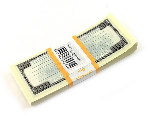 Блокнот Пачка 100 долларов