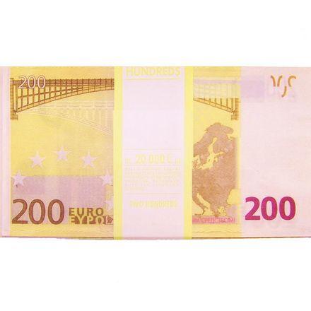 Забавная Пачка Гигант 200 Евро