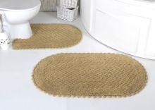 Комплект ковриков для ванной PRIOR 60*100 + 50*70(бежевый) Арт.5100-3