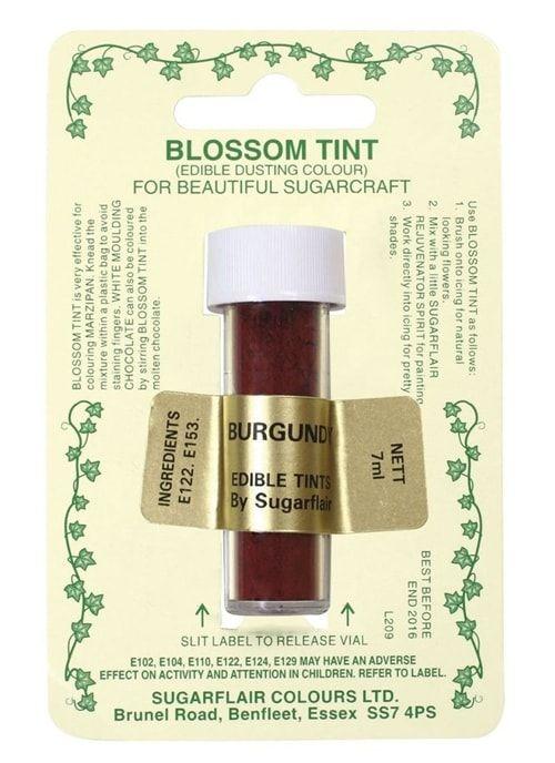 Цветочная пыльца Sugarflair BURGUNDY