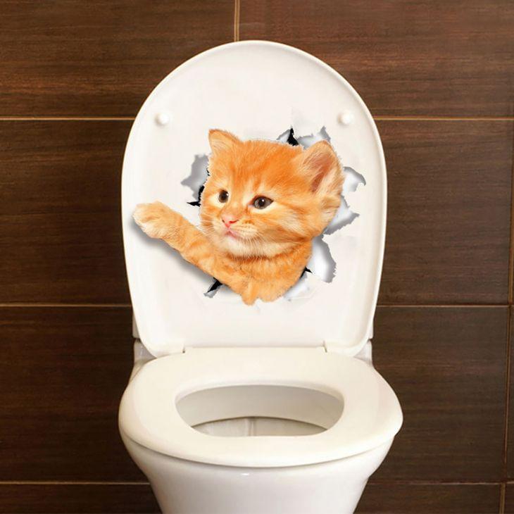 """3D наклейки """"Кошки-2"""""""