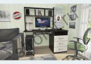 КС-002 (стол компьютерный) венге/беленый дуб