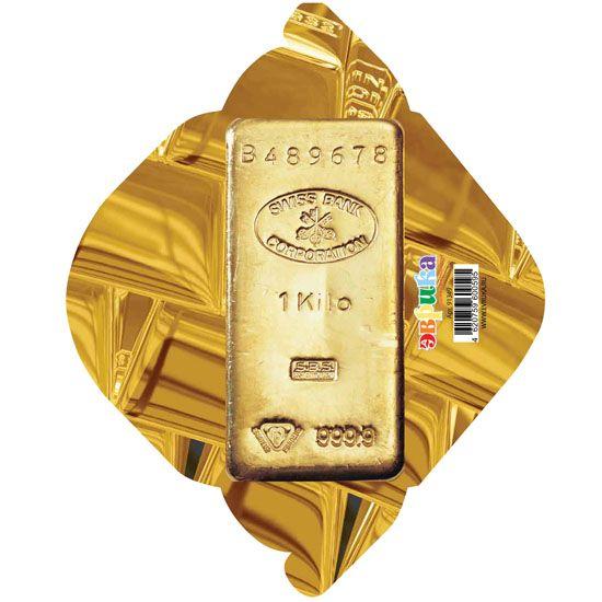 Конверт Слиток золотав уп.10 шт.