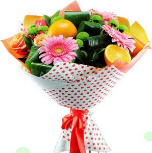 Букет Апельсины в цветах