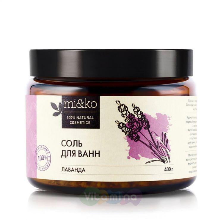 Mi&Ko <b>Соль для ванн Лаванда</b> купить в интернет-магазине ...