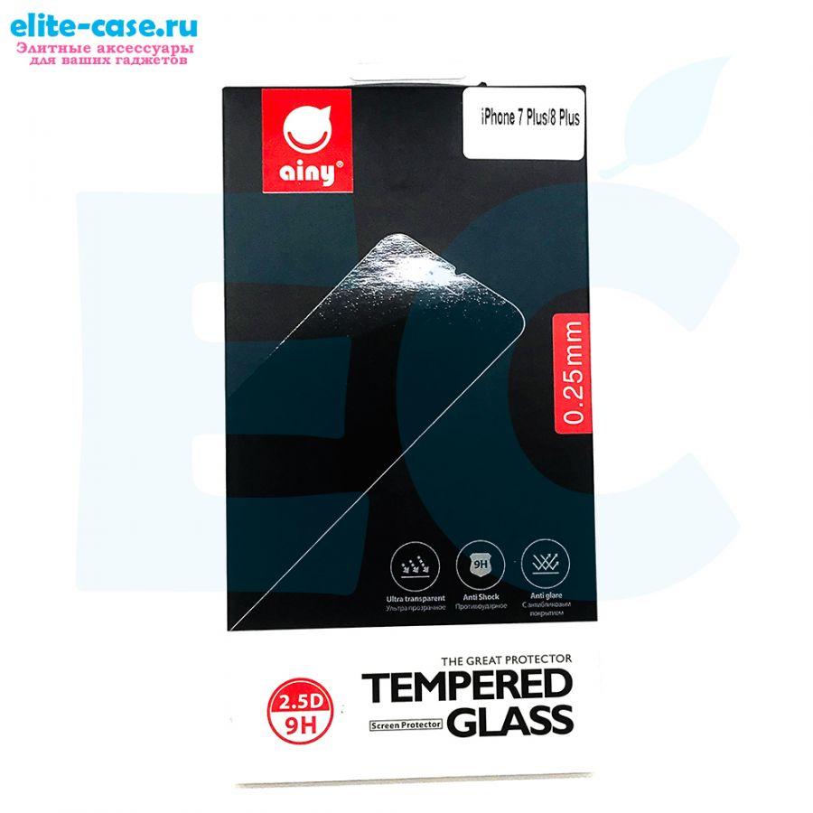 Защитное стекло Ainy GLASS для Apple iPhone 7 Plus 0.25mm